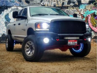 "2006 Dodge Ram 3500 - 17x9 0mm - Raceline Throttle - Leveling Kit - 35"" x 12.5"""