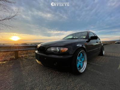 2003 BMW 3 Series - 18x10.5 35mm - Aodhan Ah03 - Coilovers - 225/40R18