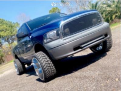 "2009 Dodge Ram 1500 - 24x14 -80mm - RBP 80R Scorpion - Suspension Lift 6.5"" - 35"" x 13.5"""