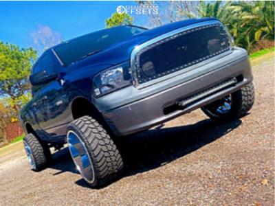 "2009 Dodge Ram 1500 - 24x14 -76mm - RBP Scorpion - Suspension Lift 6.5"" - 33"" x 13.5"""