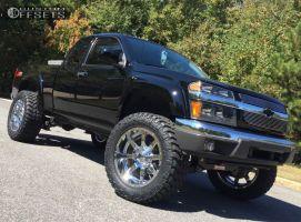 "2012 Chevrolet Colorado - 20x10 -24mm - Fuel Maverick - Suspension Lift 4"" - 305/55R20"