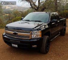 2010 Chevrolet Silverado 1500 - 20x10 -24mm - Fuel Coupler - Leveling Kit - 265/50R20