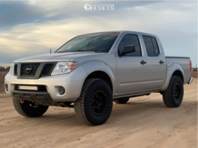 "2019 Nissan Frontier - 16x8 0mm - DX4 Recon - Suspension Lift 2.5"" - 285/75R16"