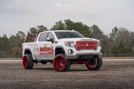 "2019 GMC Sierra 1500 - 26x14 -81mm - ARKON OFF-ROAD Caesar - Suspension Lift 8"" - 35"" x 13.5"""