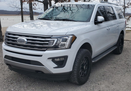 2020 Ford Expedition - 20x9 0mm - XF Forged Xfx-302 - Leveling Kit - 275/60R20