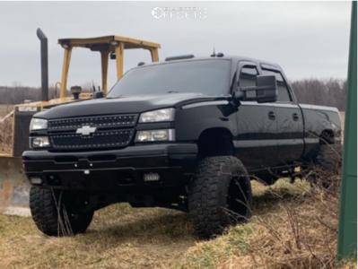 "2003 Chevrolet Silverado 1500 HD - 20x14 -76mm - Fuel Hostage - Suspension Lift 6"" - 35"" x 13.5"""