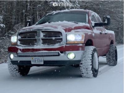 "2006 Dodge Ram 1500 - 20x12 -44mm - TIS 544c - Leveling Kit - 33"" x 12.5"""