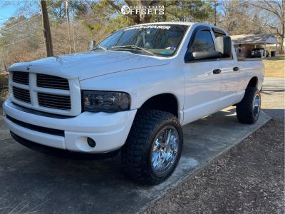 "2004 Dodge Ram 1500 - 20x12 -44mm - RBP 65r - Suspension Lift 3"" - 33"" x 12.5"""
