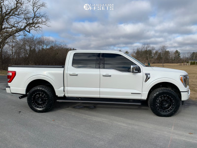 2021 Ford F-150 - 18x9 18mm - Method The Standard - Leveling Kit - 285/70R18