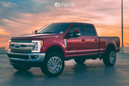 """2017 Ford F-250 Super Duty - 22x12 -44mm - KG1 Forged Bounty - Leveling Kit - 35"""" x 12.5"""""""