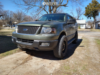"""2005 Ford Expedition - 20x9 29mm - Ultra Wheels Sentinel - Leveling Kit - 35"""" x 12.5"""""""