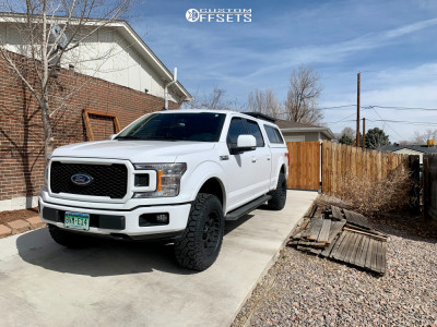 2019 Ford F-150 - 18x9 6.35mm - Pro Comp 7032 - Leveling Kit - 275/70R18