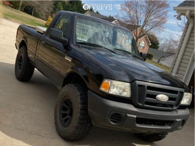 "2008 Ford Ranger - 16x8 0mm - Vision Turbine - Suspension Lift 3"" - 285/75R16"