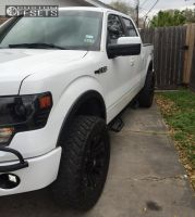"""2013 Ford F-150 - 20x9 18mm - XD Monster - Suspension Lift 3"""" - 35"""" x 12.5"""""""