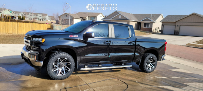 "2019 Chevrolet Silverado 1500 - 20x10 -25mm - Remington Canyon - Leveling Kit - 33"" x 12.5"""