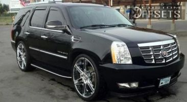2008 Cadillac Escalade - 26x10 25mm - Dropstars DS05 - Air Suspension - 305/30R26
