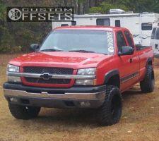 "2003 Chevrolet Silverado 1500 - 20x12 -44mm - Gear Off-Road Manifold - Leveling Kit - 33"" x 12.5"""