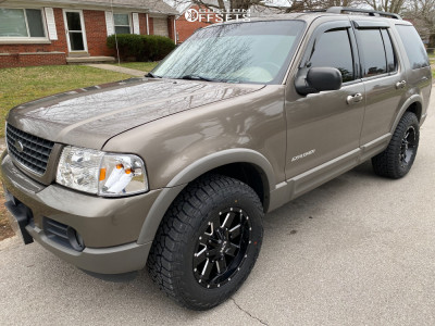 """2002 Ford Explorer - 17x9 18mm - Ion Alloy 141 - Stock Suspension - 31"""" x 10.5"""""""