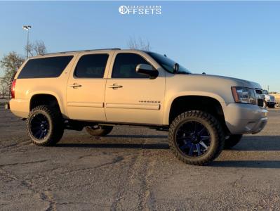 "2011 Chevrolet Suburban 1500 - 20x10 -19mm - Fuel Contra - Suspension Lift 7"" - 35"" x 12.5"""