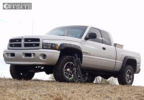 "2001 Dodge Ram 1500 - 18x9 0mm - Ultra Mongoose - Leveling Kit - 33"" x 12.5"""