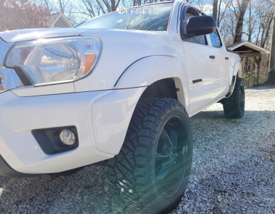 2012 Toyota Tacoma - 20x9 18mm - MKW M119 - Stock Suspension - 265/50R20
