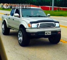 "2001 Toyota Tacoma - 20x12 -44mm - Moto Metal MO962 - Suspension Lift 3.5"" - 305/55R20"
