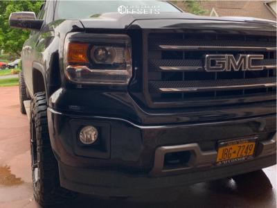 2015 GMC Sierra 1500 - 20x10 -18mm - Fuel Coupler - Stock Suspension - 285/55R20