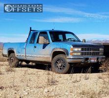 1993 Chevrolet K2500 - 17x8.5 12mm - Level 8 Guardian - Stock Suspension - 265/70R17