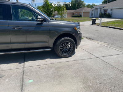 """2018 Ford Expedition - 22x10 -13mm - Fuel Rebel - Leveling Kit - 33"""" x 12.5"""""""