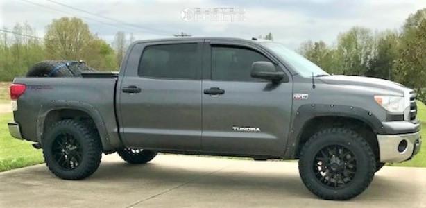 """2013 Toyota Tundra - 20x10 -19mm - Hardrock Affliction - Leveling Kit - 35"""" x 12.5"""""""