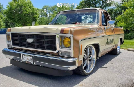 1979 Chevrolet C10 - 22x8.5 0mm - US Mags C-ten - Lowered 4F / 6R - 255/30R22