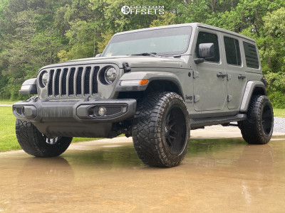 "2020 Jeep Wrangler - 20x12 -44mm - Motiv Offroad Magnus - Stock Suspension - 33"" x 12.5"""