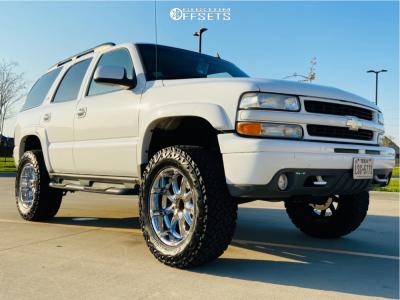 "2006 Chevrolet Tahoe - 20x9 -12mm - XD Badlands - Suspension Lift 4"" - 35"" x 12.5"""