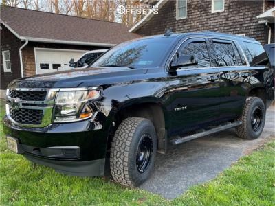 "2019 Chevrolet Tahoe - 17x8.5 0mm - Method Vex - Leveling Kit - 32"" x 10.5"""