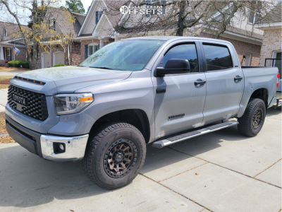 "2019 Toyota Tundra - 18x9 -12mm - Fuel Covert - Suspension Lift 3"" - 175/70R18"