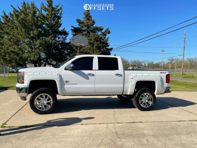 "2014 Chevrolet Silverado 1500 - 20x10 -25mm - Xtreme Force Raptor - Air Suspension - 35"" x 12.5"""