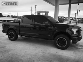 2016 Ford F-150 - 20x9 18mm - Gear Off-Road Endurance - Leveling Kit - 305/55R20