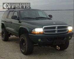 "2002 Dodge Durango - 15x8 0mm - Pro Comp Series 51 - Suspension Lift 3"" - 33"" x 12.5"""