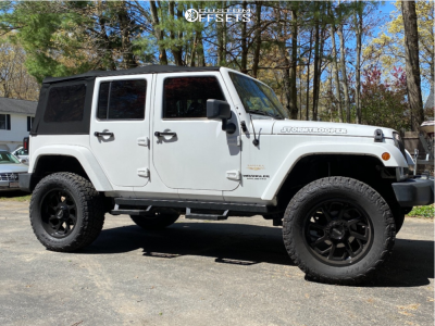 "2013 Jeep Wrangler - 20x9 -12mm - Ultra Patriot - Suspension Lift 3.5"" - 35"" x 12.5"""
