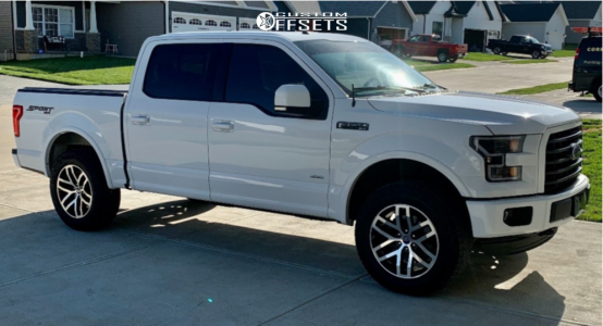 2016 Ford F-150 - 20x9 25mm - Voxx Replicas Raptor - Leveling Kit - 275/65R20