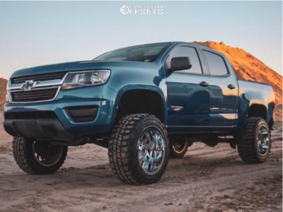 "2019 Chevrolet Colorado - 20x12 -44mm - RBP Forged Glock - Suspension Lift 7"" - 33"" x 12.5"""