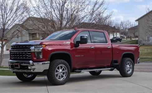 "2020 Chevrolet Silverado 2500 HD - 20x9 1mm - Fuel Maverick - Leveling Kit - 35"" x 11.5"""