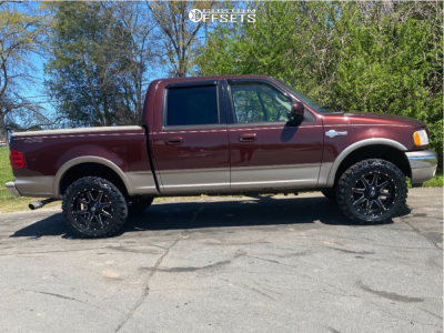 "2001 Ford F-150 - 20x10 -18mm - Fuel Maverick - Stock Suspension - 33"" x 12.5"""