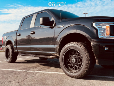 """2018 Ford F-150 - 20x10 -18mm - Anthem Off-Road Avenger - Stock Suspension - 33"""" x 10.5"""""""