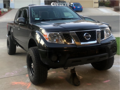 2019 Nissan Frontier - 16x8 -12mm - Vision Soft 8 - Leveling Kit - 265/70R16
