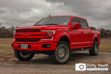 """2019 Ford F-150 - 22x10 -24mm - Cali Off Road Summit - Suspension Lift 3"""" - 305/45R22"""