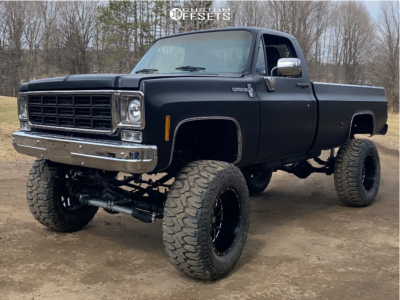 "1977 Chevrolet K10 - 20x12 -44mm - XD Grenade - Suspension Lift 9"" - 38"" x 15.5"""