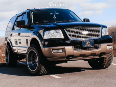 """2004 Ford Expedition - 20x12 -51mm - Asanti Ab815 - Leveling Kit - 33"""" x 12.5"""""""