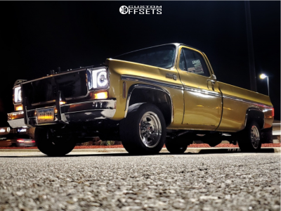 "1975 Chevrolet G20 - 16x8 0mm - American Racing Ar23 - Stock Suspension - 26"" x10.5"""