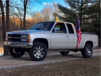 "1992 Chevrolet K1500 - 16x8 -0mm - Vision Warrior - Stock Suspension - 29"" x 10.5"""